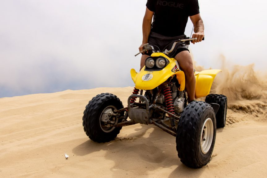Oceano Dunes California ATV Riding Sand Duning Quad