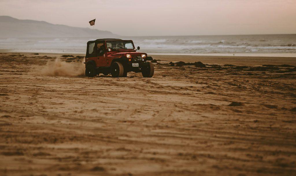 Oceano Dunes Jeep Beach Sand Racing