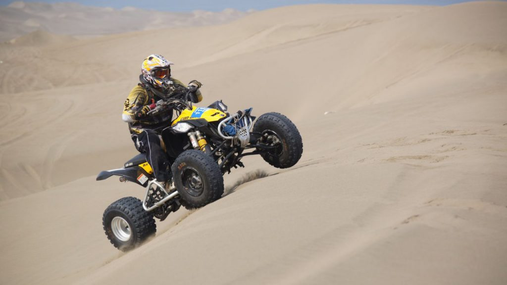 California Sand Dunes ATV Riding Racing Duning