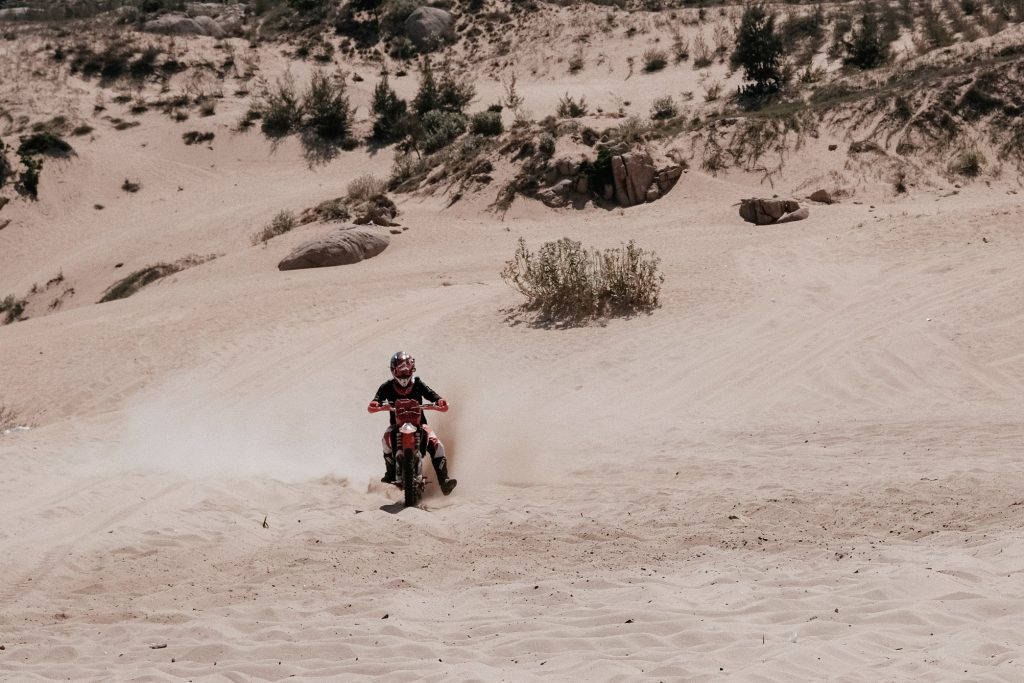 sand dunes atv dirtbike desert racing