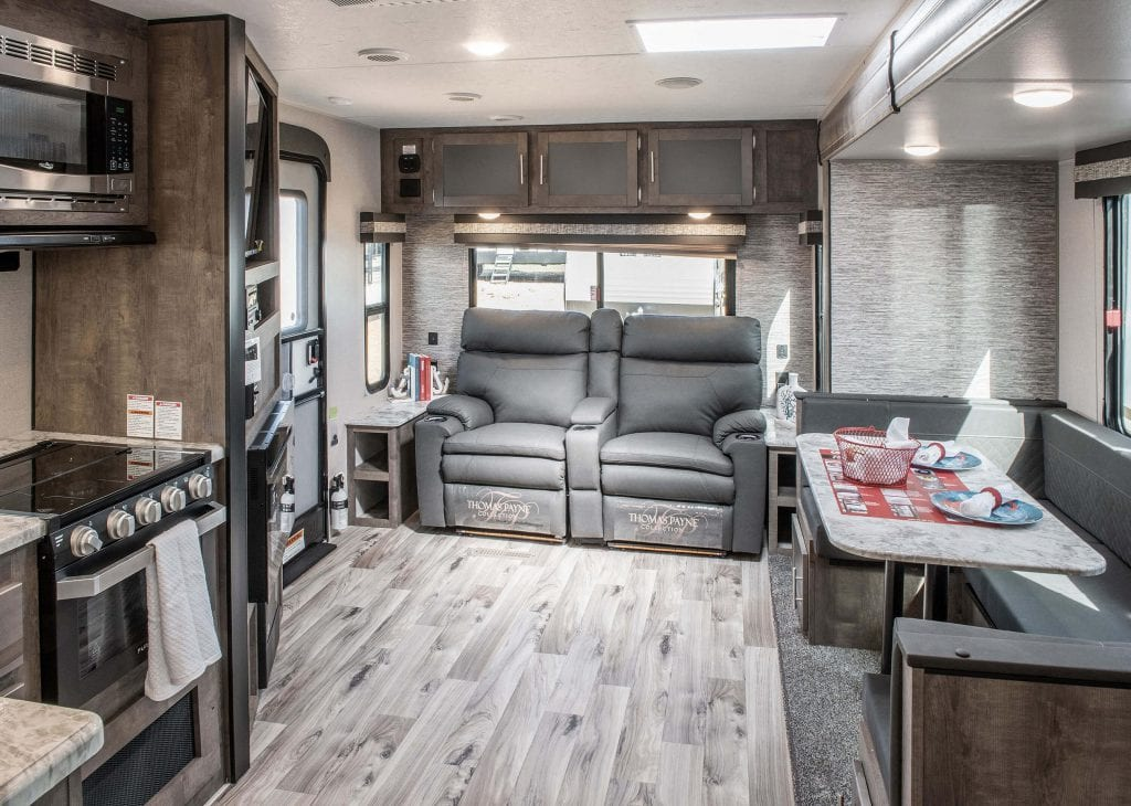 new rv interior custom layout customize motorhome