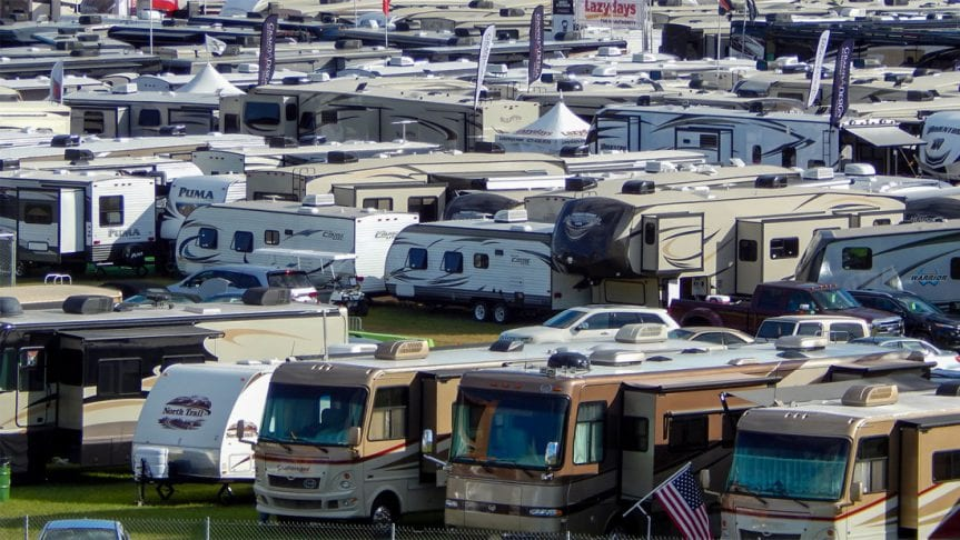 rvs New RVs RV show