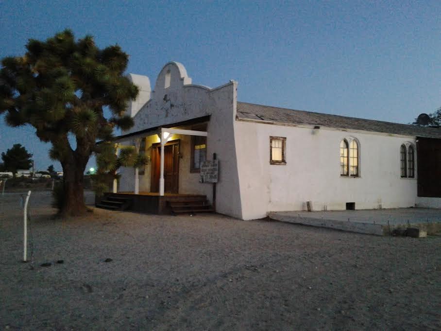 kill bill church in lancaster california joshua tree