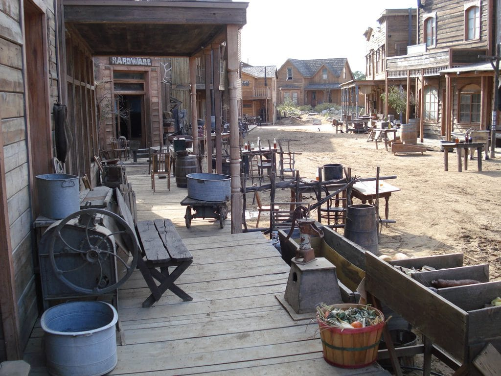 old western town on melody ranch