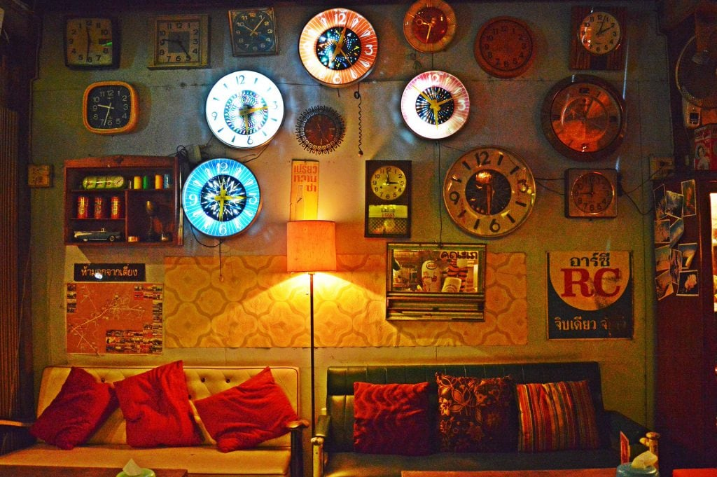 wall clocks on wall