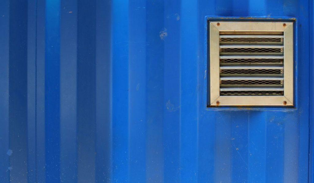 aluminum ventilation on cargo container