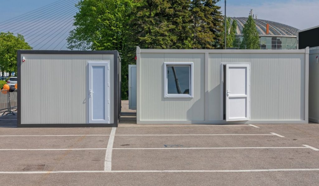 shipping container for business