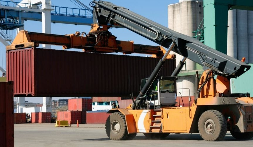 How to Move a Shipping Container?